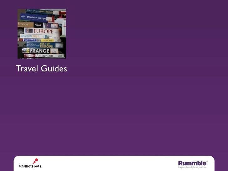 Travel Guides   Websites   Mobile Socnets
