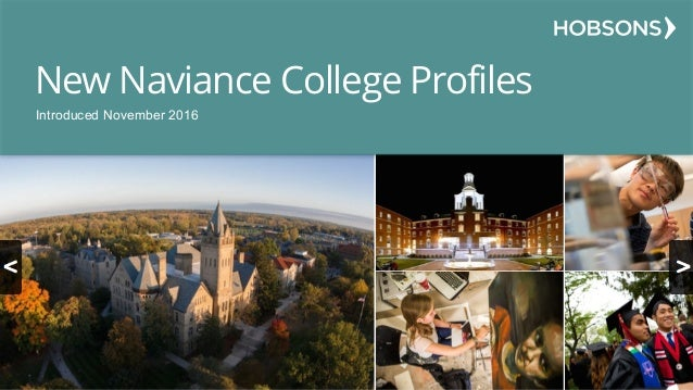 New Naviance College Profiles Introduced November 2016