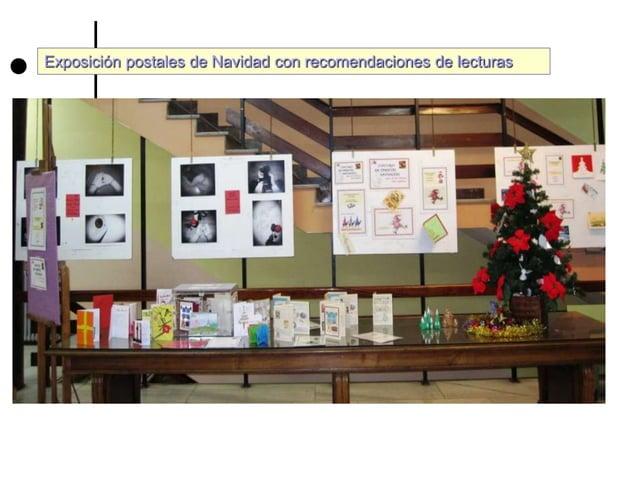 Exposici�n postales de Navidad con recomendaciones de lecturas