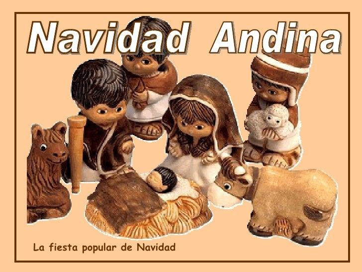 La fiesta popular de Navidad Navidad Andina