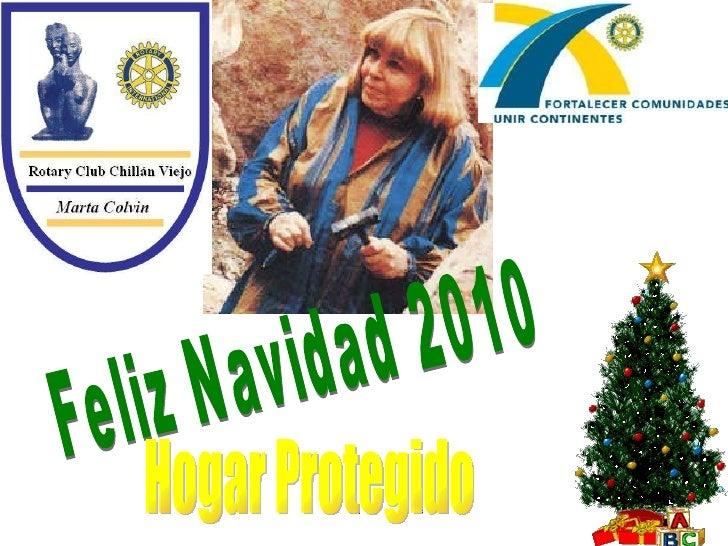 Feliz Navidad 2010 Hogar Protegido