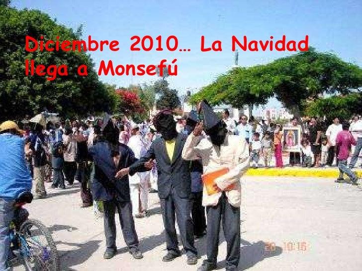 Diciembre 2010… La Navidad llega a Monsefú<br />