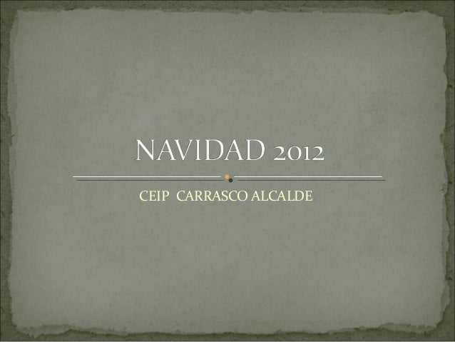 CEIP CARRASCO ALCALDE