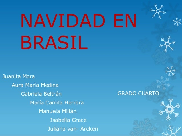 Fotos De Navidad En Brasil.Navidad En Brasil