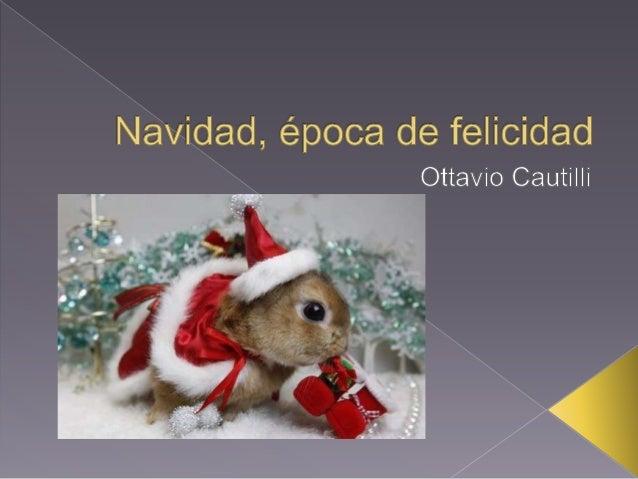 Navidad,  época de felicidad  Ottavio Cauti I Ii