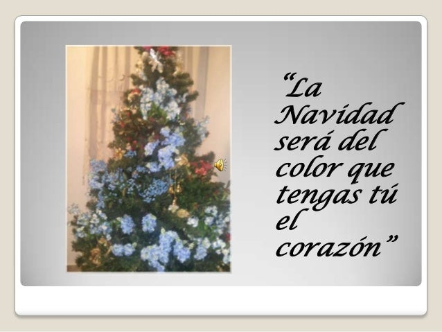 Navidad será del color...2013
