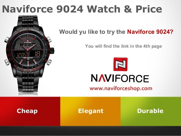 Naviforce 9024 Watch & Price Would yu like to try the Naviforce 9024?