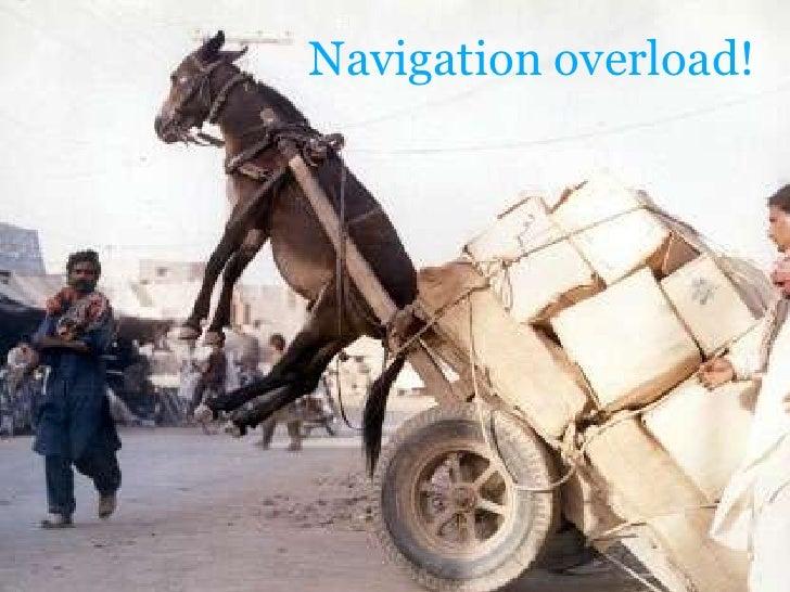 Navigationoverload!<br />