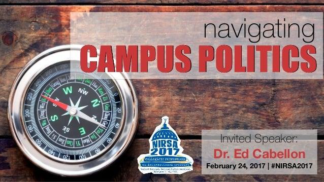 Problems With Campus Politics & Campus Politicians