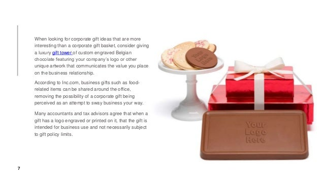 Navigating corporate gift policy limits - Totally Chocolate