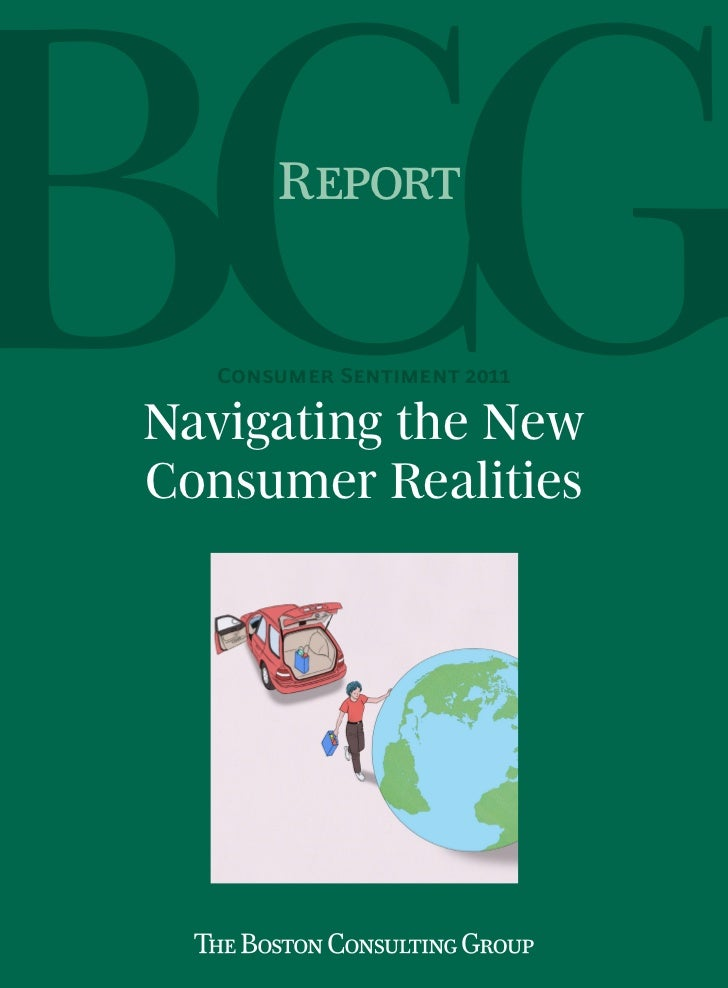 Report   Consumer Sentiment 2011Navigating the NewConsumer Realities
