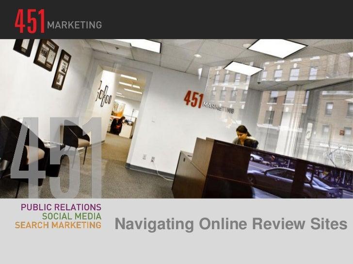 Navigating Online Review Sites