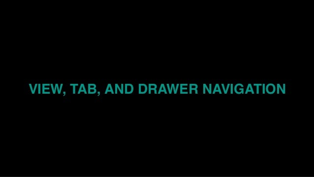 Navigating React Native Navigation