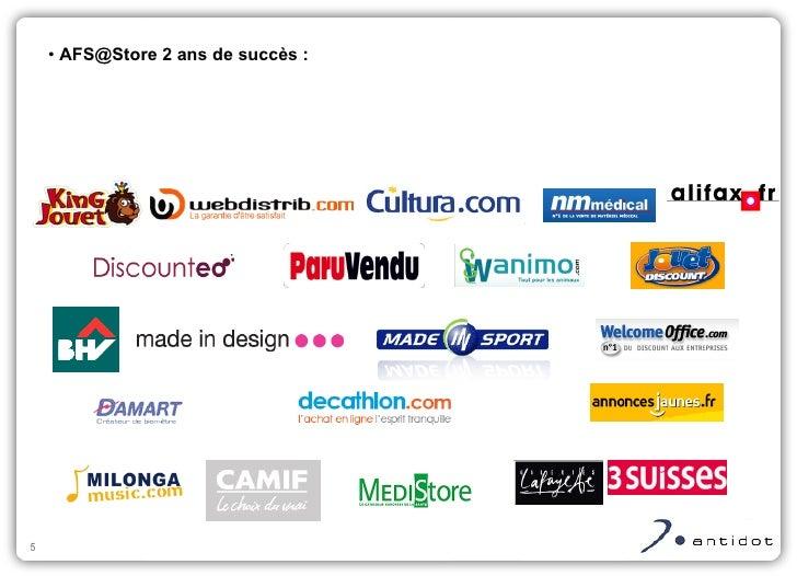 <ul><li>AFS@Store 2 ans de succès : </li></ul>