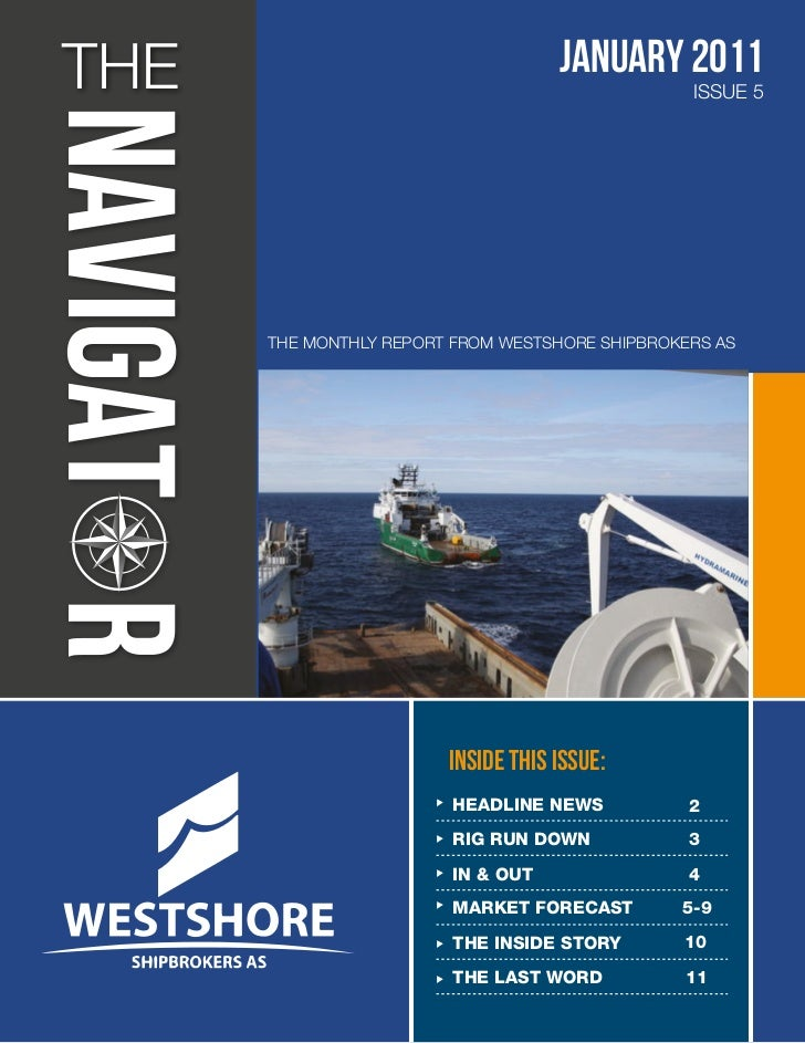 THE                                 January 2011                                                 ISSUE 5      THE MONTHLY ...
