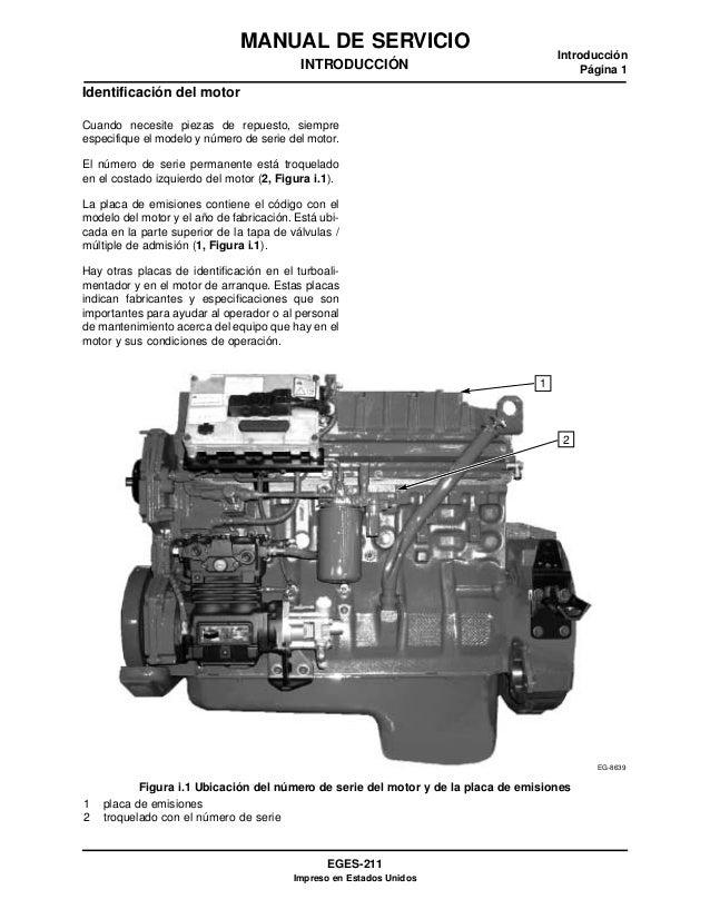 navistar manual de servicio dt466 i530e rh es slideshare net International DT466E Service Manual manual de servicio de motor international dt466e