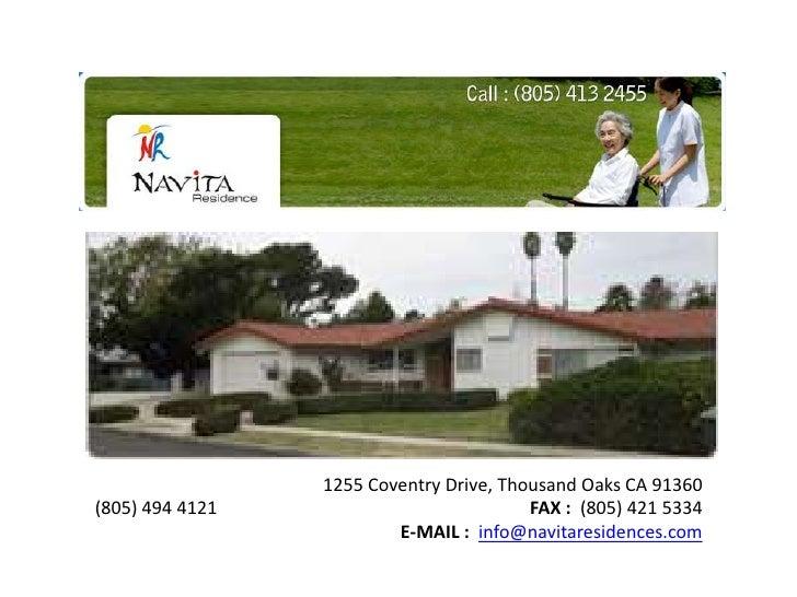 1255 Coventry Drive, Thousand Oaks CA 91360(805) 494 4121              FAX :  (805) 421 5334   <br />E-MAIL :info@navi...