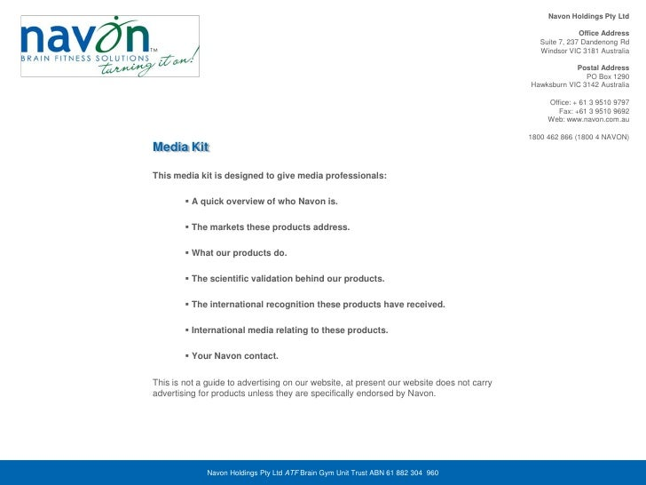 Navon Holdings Pty Ltd                                                                                                    ...