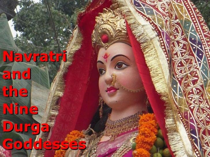Navratri  and  the  Nine  Durga  Goddesses