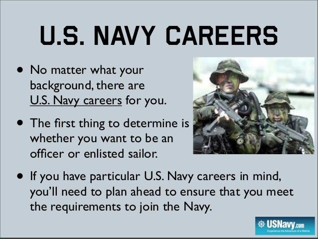 United States Navy jobs