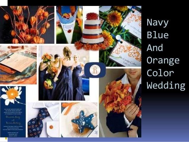 Fuschia And Orange Wedding Invitations: Navy Blue Color Themed Wedding Ideas From Happyinvitation