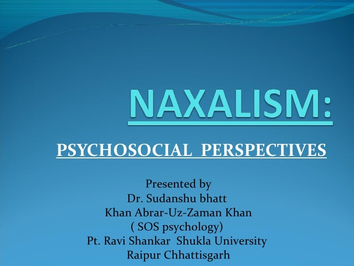 naxalism Firstly: maoism, marxism, and leninism are all forms of communism naxalism refers to the maoist party of india, so they would fall under the umbrella of maoism.