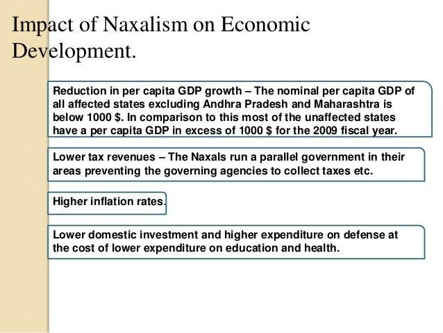 impact of naxalism in india upsc