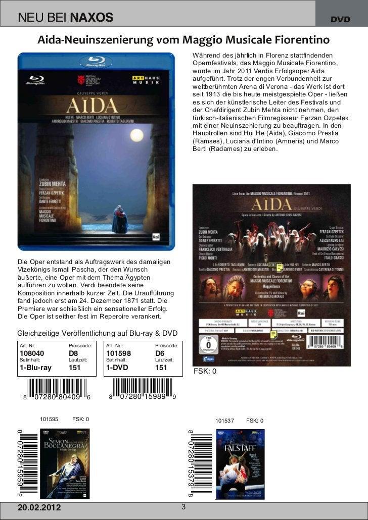 DVD                                                          Während des jährlich in Florenz stattfindenden               ...