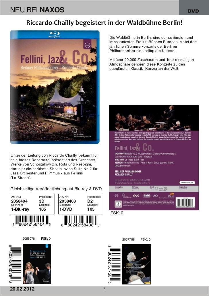 DVD                                                          Die Waldbühne in Berlin, eine der schönsten und              ...