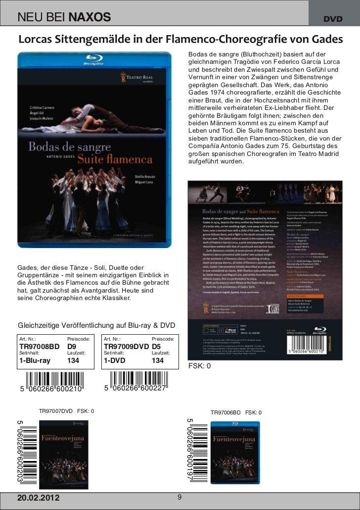 DVD                                                          Bodas de sangre (Bluthochzeit) basiert auf der               ...
