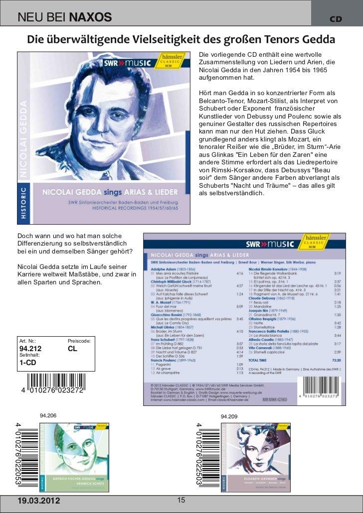 NEU BEI               NAXOS                                                                CD                             ...