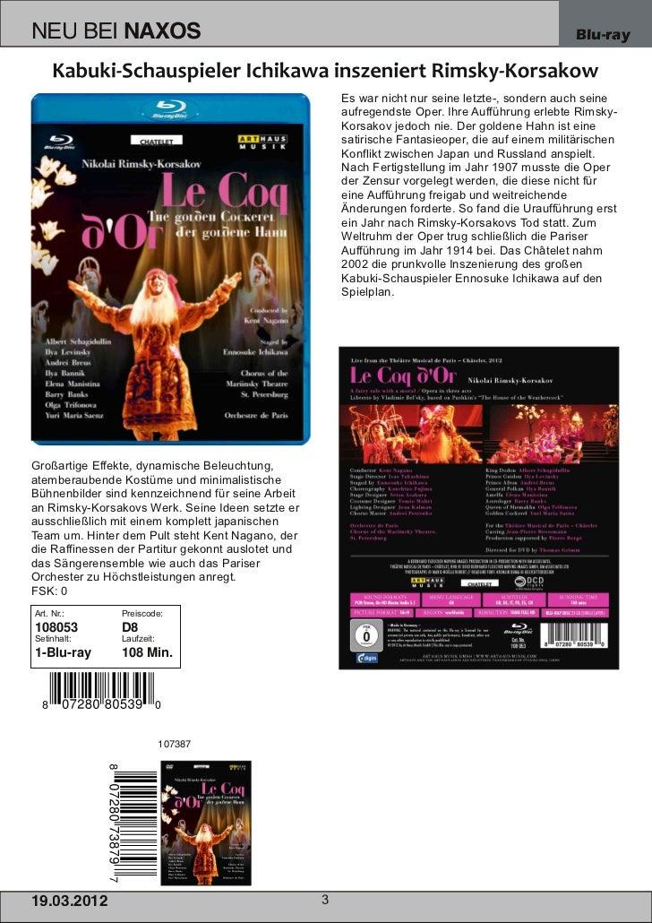 NEU BEI           NAXOS                                                                             Blu-ray               ...