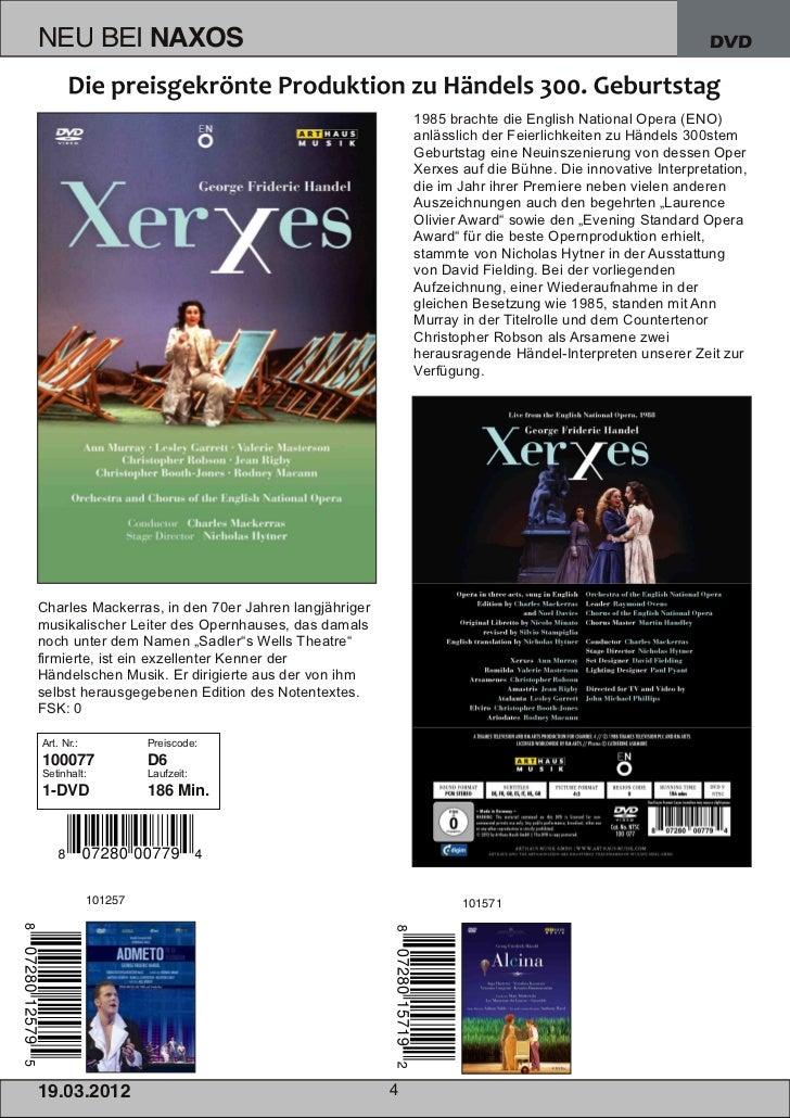 NEU BEI                NAXOS                                                                           DVD                ...