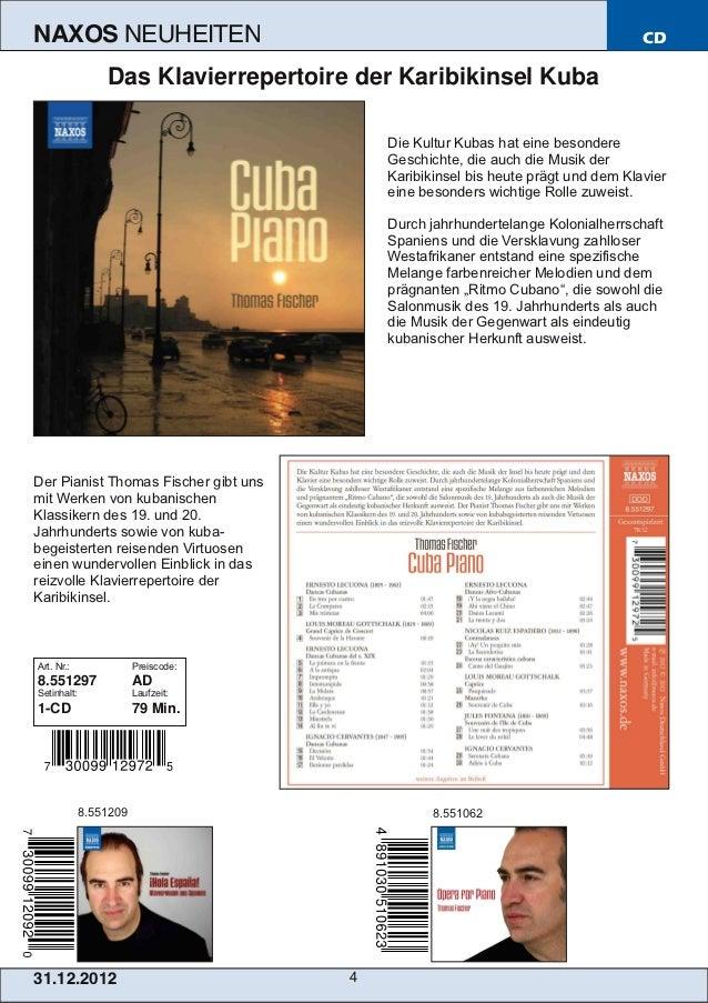NAXOS               NEUHEITEN                                                     CD                 Das Klavierrepertoire...