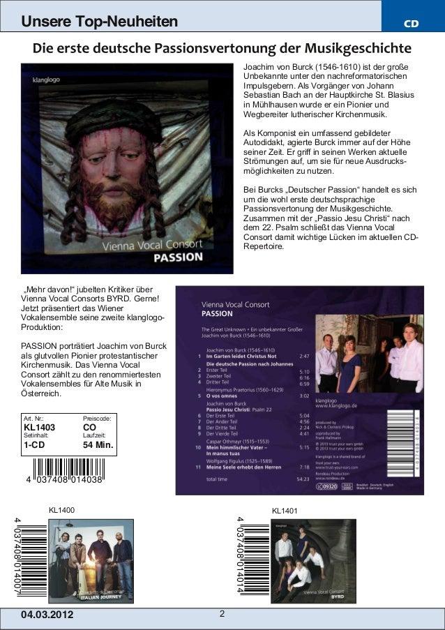 Unsere Top-Neuheiten                                                                       CD                             ...