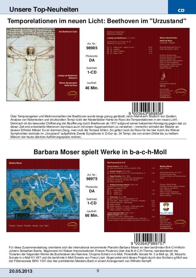 CD20.05.201 3 9Unsere Top-NeuheitenFür diese Zusammenstellung orientierte sich die international renommierte Pianistin Bar...
