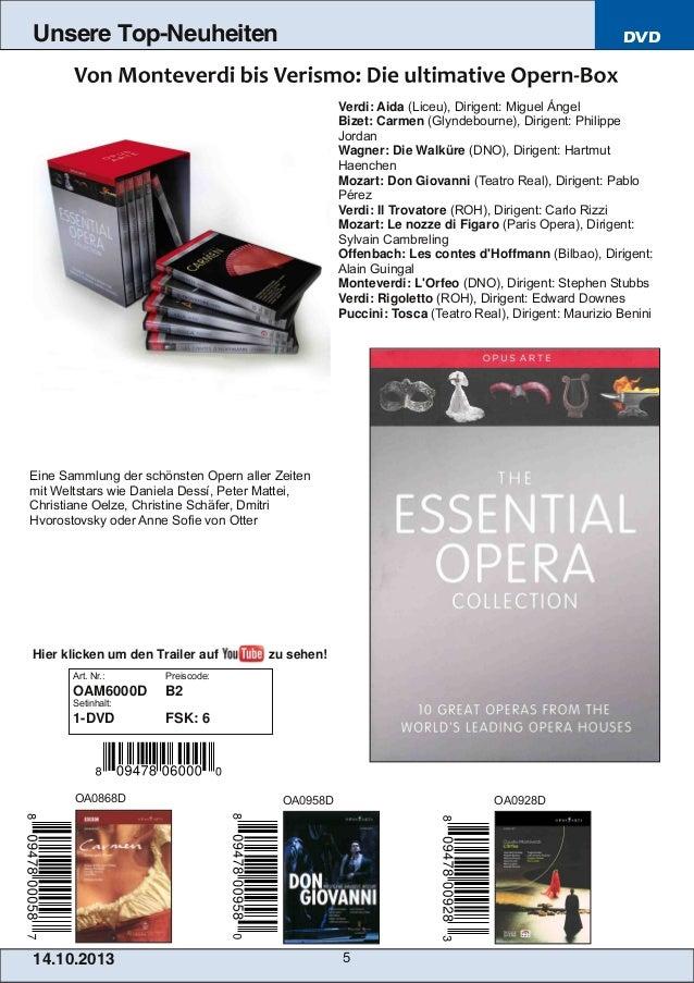 Unsere Top-Neuheiten  DVD  Verdi: Aida (Liceu), Dirigent: Miguel Ángel Bizet: Carmen (Glyndebourne), Dirigent: Philippe Jo...