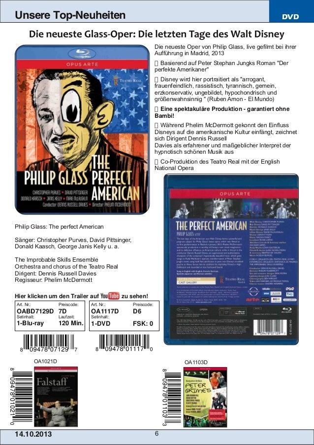 Unsere Top-Neuheiten  DVD  Die neueste Oper von Philip Glass, live gefilmt bei ihrer Aufführung in Madrid, 2013  Basieren...