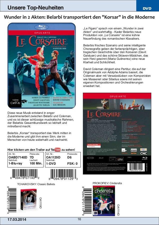 """17.03.2014 16 Unsere Top-Neuheiten DVD """"Le Figaro"""" sprach von einem """"Wunder in zwei Akten"""" und wahrhaftig  Kader Belarbis..."""