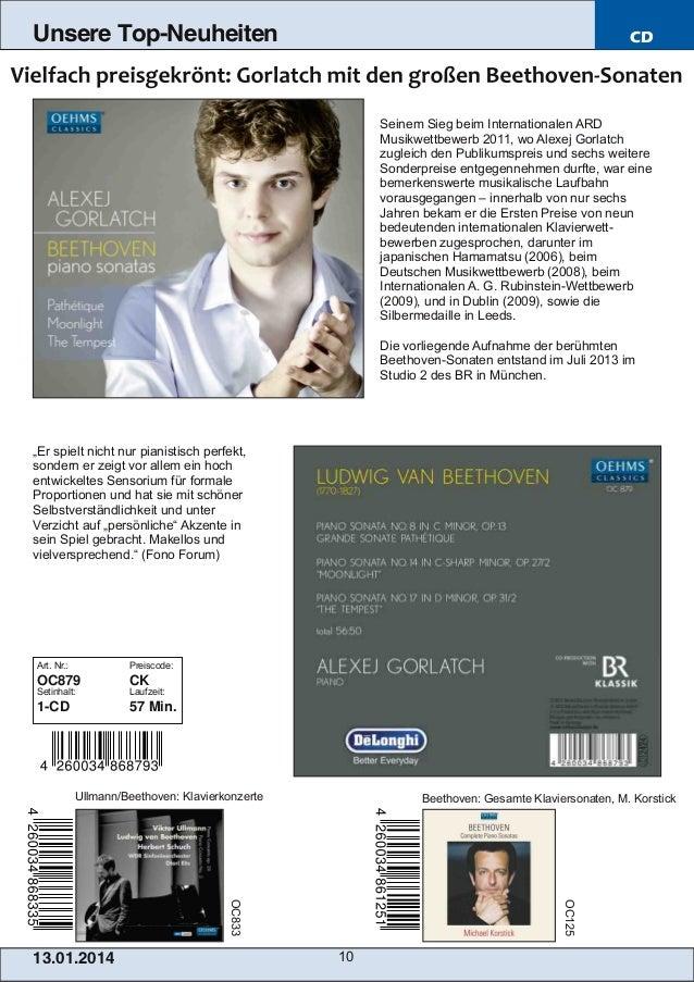 Unsere Top-Neuheiten  CD  Seinem Sieg beim Internationalen ARD Musikwettbewerb 2011, wo Alexej Gorlatch zugleich den Publi...