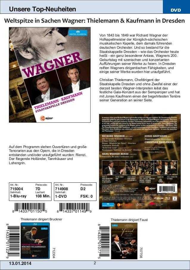Unsere Top-Neuheiten  DVD  Von 1843 bis 1849 war Richard Wagner der Hofkapellmeister der Königlichsächsischen musikalisch...
