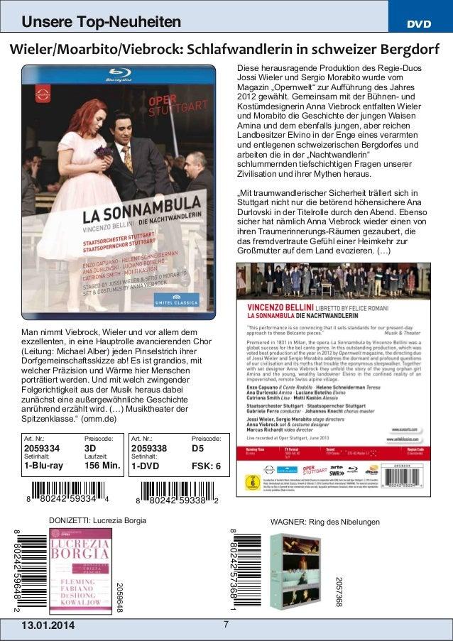 Unsere Top-Neuheiten  DVD  Diese herausragende Produktion des RegieDuos Jossi Wieler und Sergio Morabito wurde vom Magazi...