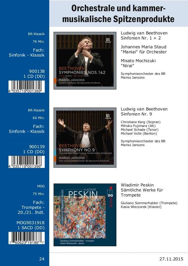 Titel: Schriftgröße 13 Interpreten Label Laufzeit Fach: Schriftgröße 13 24 900138 1 CD (DD) 900139 1 CD (DD) MDG9031918 1 ...
