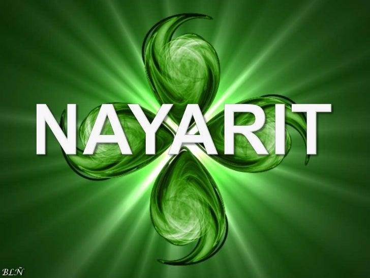    Nayarit está situado en la región occidente del    territorio nacional, entre las siguientes    coordenadas geográfica...