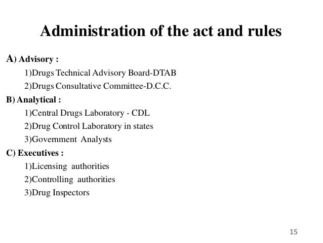 drug and cosmetic act The drug and cosmetic act and rules 1 the drug and cosmetic act and rules jobin kunjumon vilapurathu asst professor grace college of pharmacy.