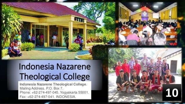 Nazarene universities and colleges around the world