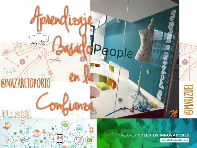 Aprendizaje Basado en la Confianza @nazaretoporto @marizuel