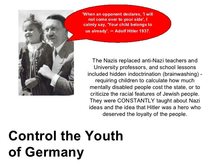 how did the nazis control germany In order to place the complete control of the machinery of government in the  hands of the nazi leaders, a series of laws and decrees were passed which.