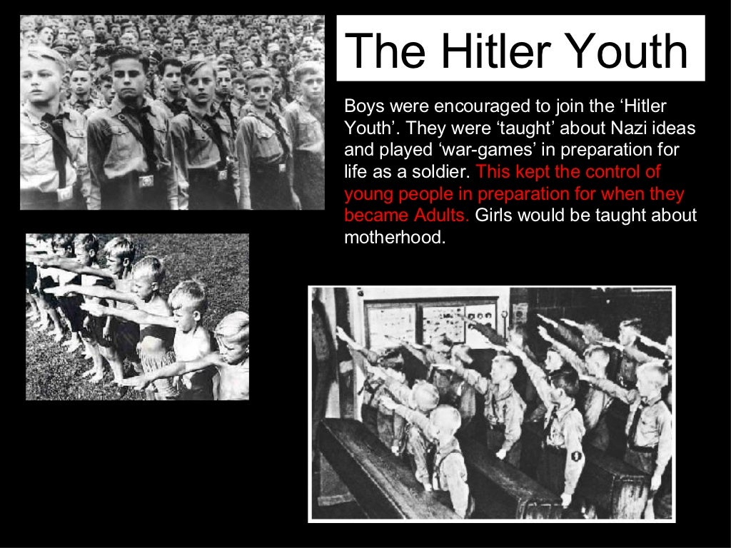 the hitler youth boys were