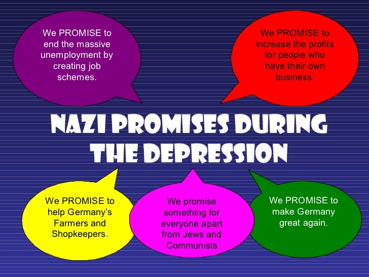 hitlers promises to the german people What promises did adolf hitler make to the german people, aiding his rise to power as the leader of the third get the answers you need, now.